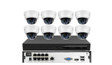 8 CH H.265 1080P POE IP Camera NVR Kits