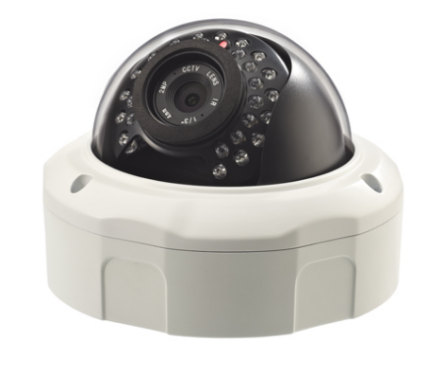 H.265 2.0MP 180° Vandal-proof IP IR Dome Camera SE-IP180K